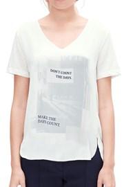 Дамска блуза с щампа V1 s.Oliver
