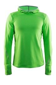 Мъжко функционално горнище CRAFT Mind Hood зелена