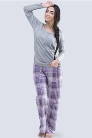 Дамска пижама Anabell сива