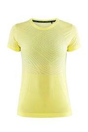 Дамска фланела CRAFT Cool Comfort SS жълта