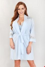 Луксозен дамски халат Lorianne