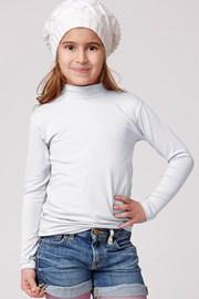 Детска памучна фланела с поло Jadea
