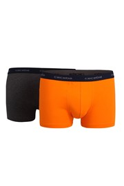 2 pack мъжки боксерки CECEBA Jubilee Orange