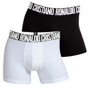 2 pack мъжки боксерки CR7 CRISTIANO RONALDO Black White
