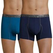 2 pack мъжки боксерки DIM Cotton 3D Flex Blue