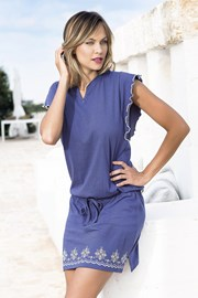Дамска лятна рокля Santorini синя