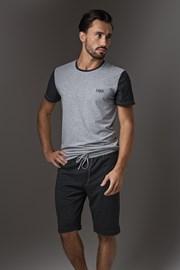 Мъжка пижама LISCA Thor Dark  Grey Short