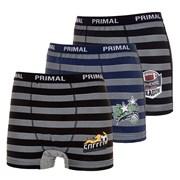 3 pack боксерки за момчета PRIMAL 4533