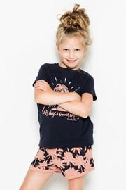 Пижама за момичета Palm Trees