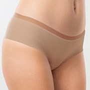 Бразилски бикини Invisible памучни, лазерно рязани