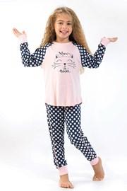 Пижама за момичета Blackspade Meow