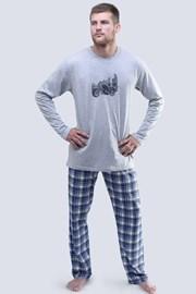 Мъжка пижама Harley дълга
