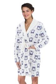 Дамски халат Nordic Ecru