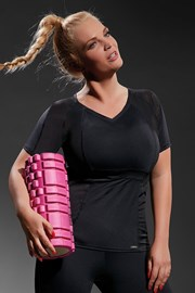Дамска спортна фланела Active Black