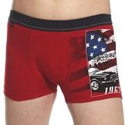 Боксерки за момчета America Red