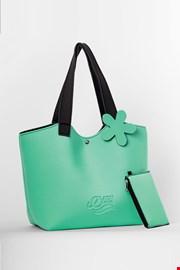 Плажна чанта Lady Etna зелена
