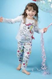 Пижама за момичета Lina Pink Pony