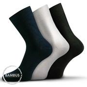 3-на опаковка къси чорапи Badon Mix бамбукови официални