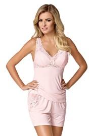 Дамска пижама Bona розова