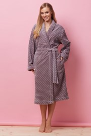 Дамски халат Lotty Violet
