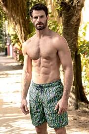 Мъжки бански шорти SHORTS Co. Cavalo Marinho REG с две лица
