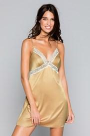 Луксозна нощничка Savannah златна