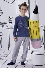 Пижама за момчета Jacqard