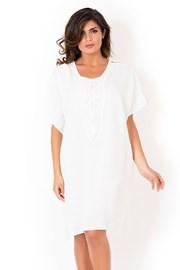Дамска италианска плажна рокля David Beachwear White
