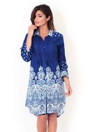Дамска италианска рокля тип риза  David Beachwear от колекцията Kerala