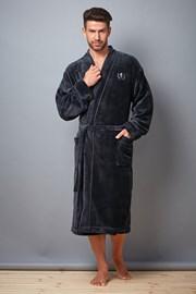 Мъжки халат David Grafit