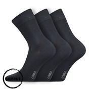3pack бамбукови чорапи Debob тъмносиви