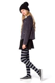 Памучен чорапогащник за момичета Delycy син