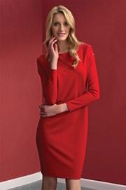 Дамска елегантна рокля Dianna Red