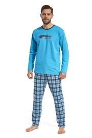 Мъжка пижама Display синя