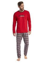 Мъжка пижама Display червена