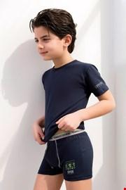 Комплект от боксерки и фланела за момче Enrico Coveri 4071