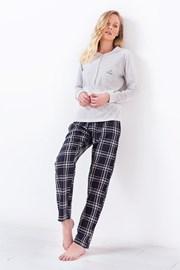 Дамска пижама 3034 сива