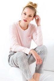Дамска пижама Stella розова