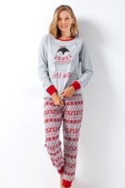 Дамска пижама Vivien сива