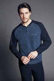 Мъжки домашен комплект Edoardo Blue