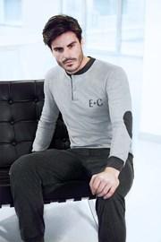 Мъжки домашен комплект Adriano сив