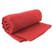 Комплект бързосъхнещи хавлии Ekea в червено