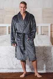 Мъжки италиански халат Enrico Antracit