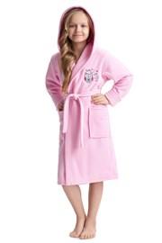 Халат за момичета Lovely Pink