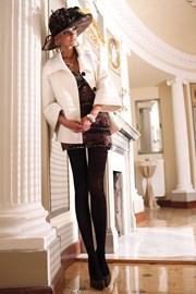 елегантен чорапогащник Glamour Soft Black
