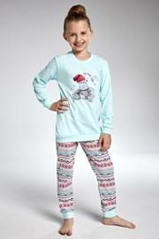 Пижама за момичета Cornette Hippo
