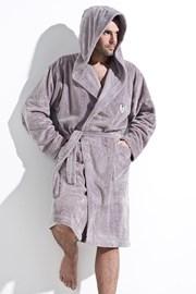 Мъжки халат  Ivo сив