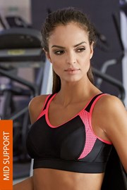 Спортен сутиен LORIN Pink