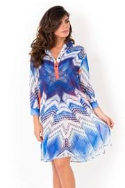 Дамска италианска плажна рокля тип риза Miradonna Beach
