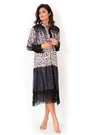 Дамска италианска рокля тип риза Miradonna, Africa